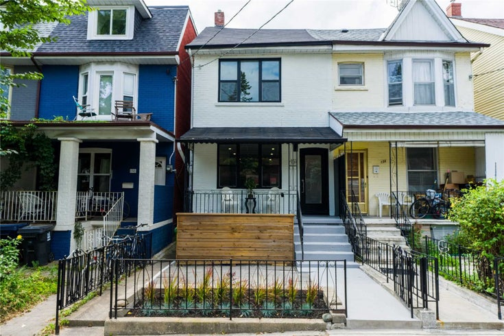 152 Bellwoods Ave - Trinity-Bellwoods Semi-Detached for sale, 3 Bedrooms (C5382364)