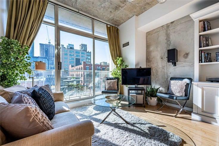 516 - 388 Richmond St W - Waterfront Communities C1 Condo Apt for sale, 1 Bedroom (C5401727)