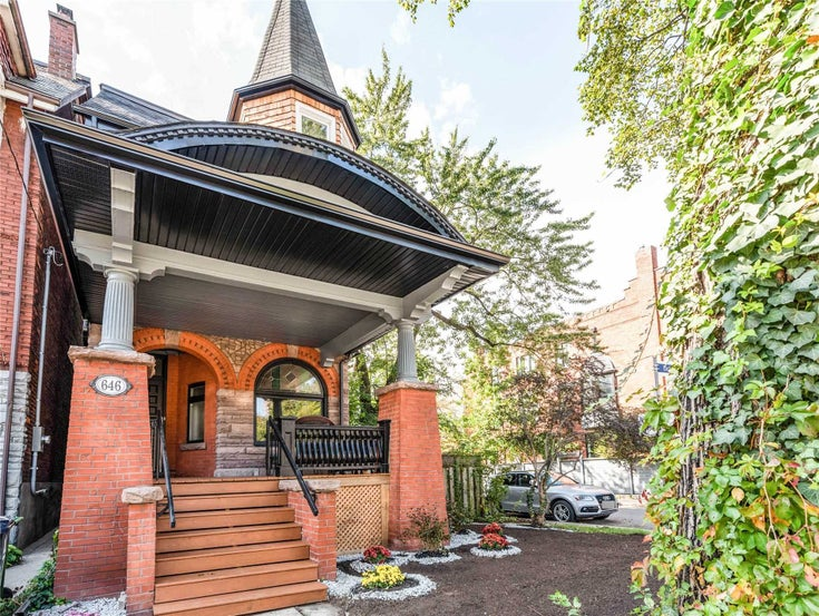 646 Euclid Ave - Palmerston-Little Italy Detached for sale, 4 Bedrooms (C5401931)