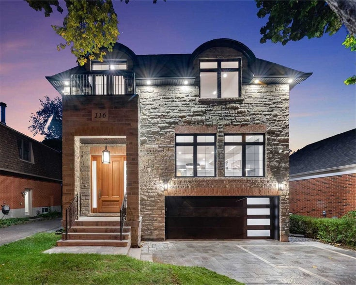 116 Park Home Ave - Willowdale West Detached for sale, 4 Bedrooms (C5404055)