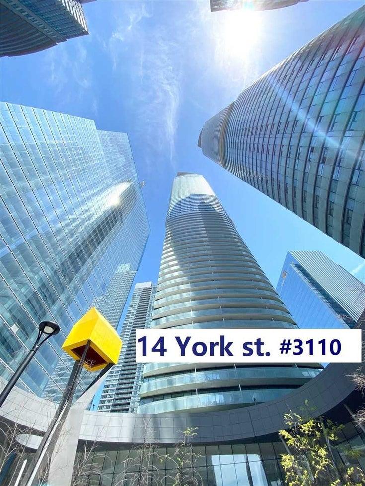 3110 - 14 York St - Waterfront Communities C1 Condo Apt for sale, 1 Bedroom (C5404247)