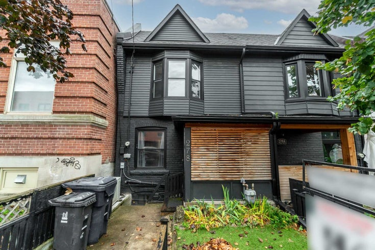 278 Brock Ave - Dufferin Grove Att/Row/Twnhouse for sale, 2 Bedrooms (C5411381)