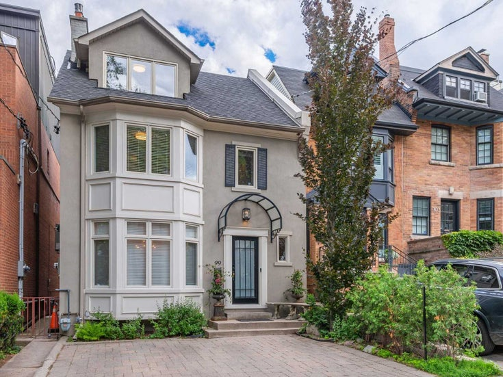 99 Balmoral Ave - Yonge-St. Clair Detached for sale, 4 Bedrooms (C5411452)