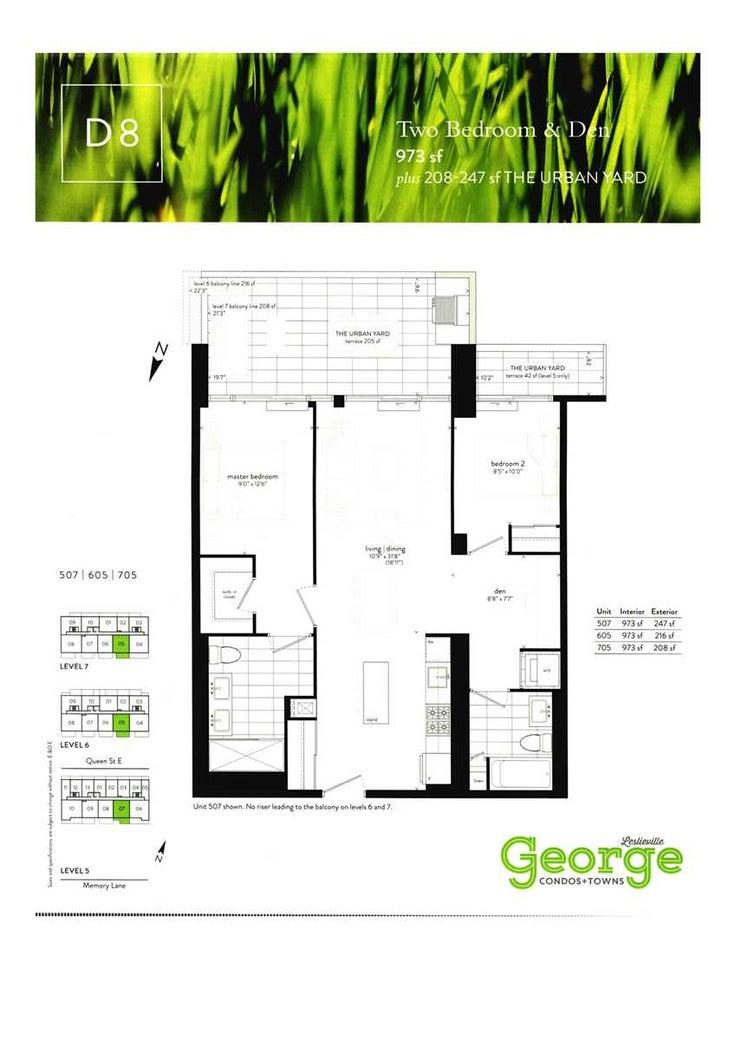 507 - 1331 Queen St E - South Riverdale Condo Apt for sale, 2 Bedrooms (E5225410)