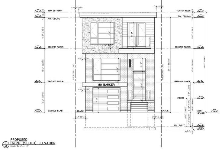 80 Barker Ave N - Danforth Village-East York Detached for sale, 2 Bedrooms (E5225531)