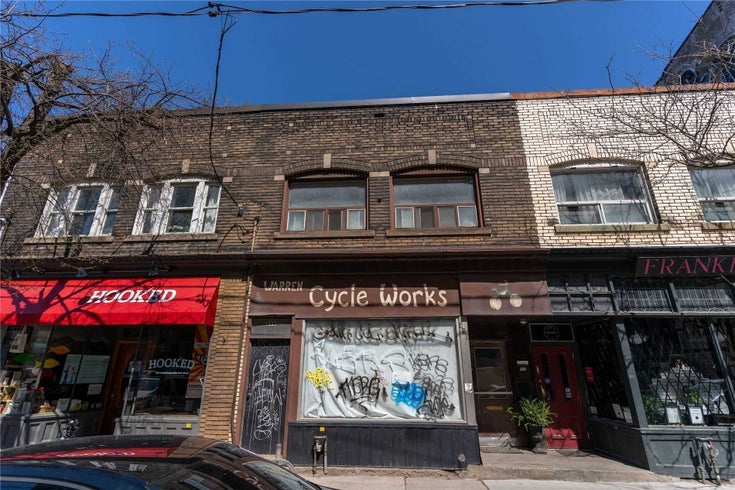 890 Queen St E - South Riverdale Store w/Apt/Offc for sale, 2 Bedrooms (E5279654)