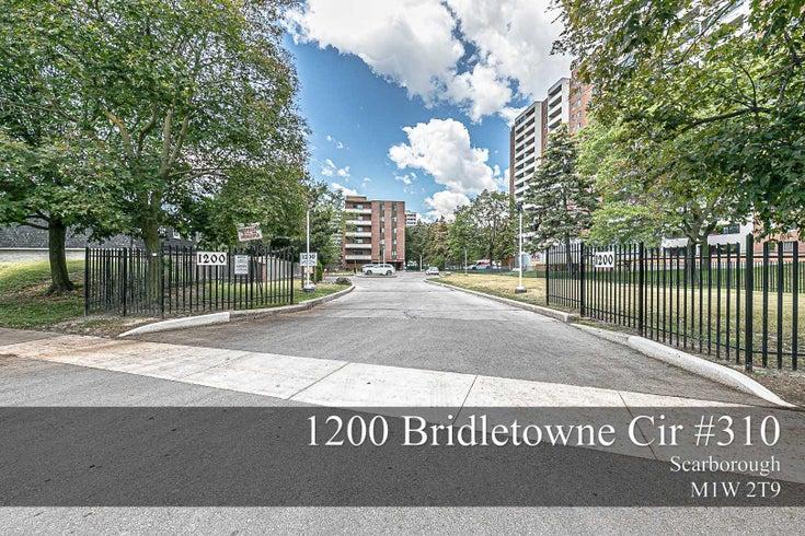 310 - 1200 Bridletowne Circ - L'Amoreaux Condo Apt for sale, 2 Bedrooms (E5286686)