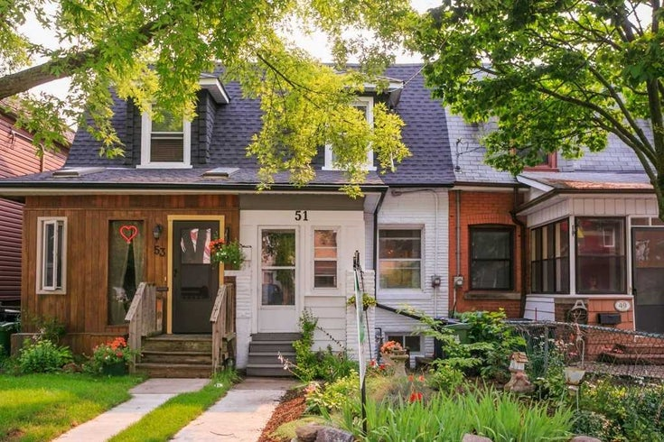 51 Pickering St - East End-Danforth Att/Row/Twnhouse for sale, 2 Bedrooms (E5319244)