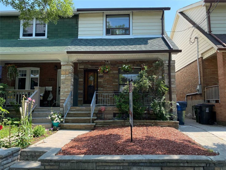 273 Wolverleigh Blvd - Danforth Semi-Detached for sale, 3 Bedrooms (E5322762)
