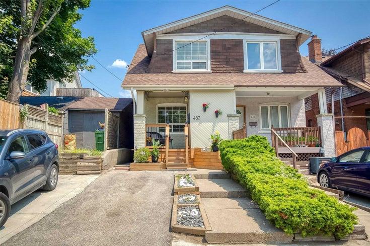 487 Woodbine Ave - East End-Danforth Semi-Detached for sale, 3 Bedrooms (E5323844)