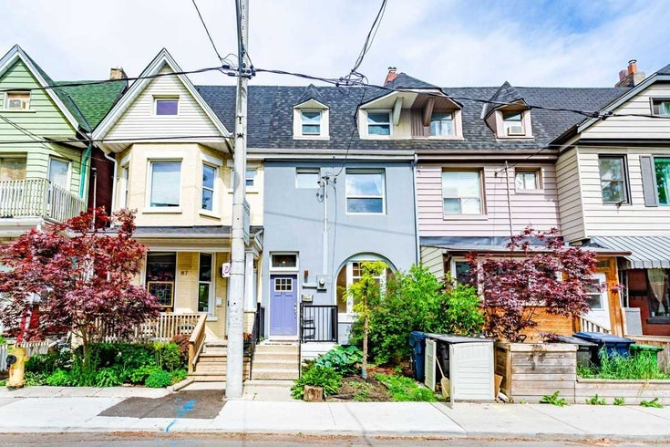 65 Hamilton St - South Riverdale Att/Row/Twnhouse for sale, 6 Bedrooms (E5375971)
