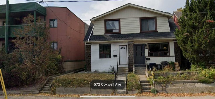 572 Coxwell Ave - Greenwood-Coxwell Semi-Detached for sale, 4 Bedrooms (E5376096)