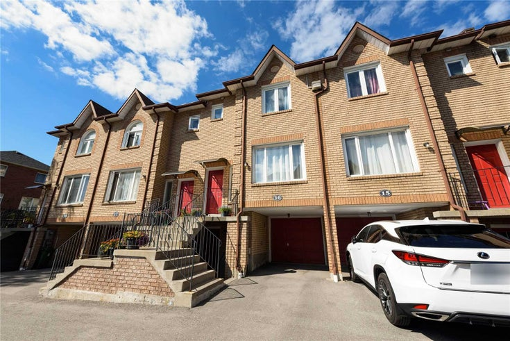 16 - 3680 Brimley Rd - Milliken Condo Townhouse for sale, 3 Bedrooms (E5377078)