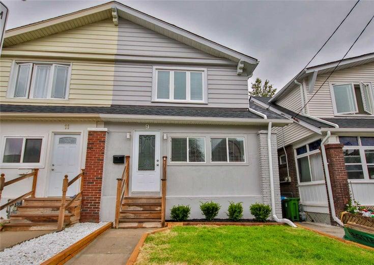 9 Byron Ave - Blake-Jones Semi-Detached for sale, 3 Bedrooms (E5377433)