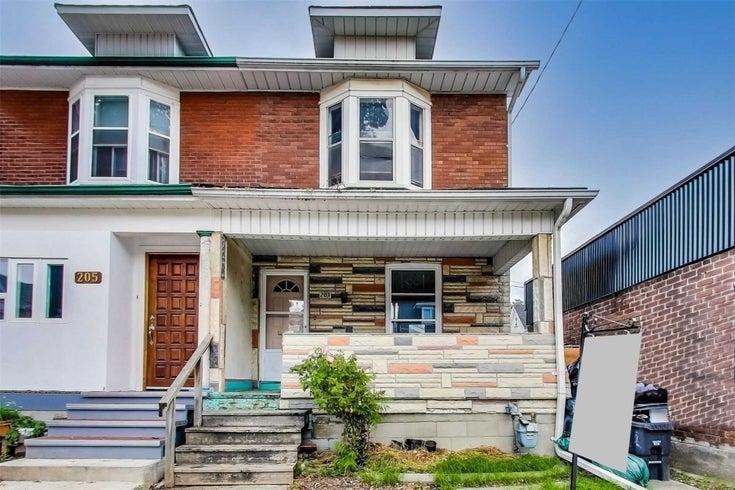 203 Jones Ave - South Riverdale Semi-Detached for sale, 3 Bedrooms (E5378644)