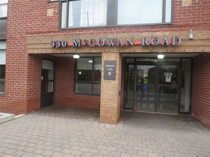 404 - 330 Mccowan Rd - Eglinton East Condo Apt for sale, 2 Bedrooms (E5404329)