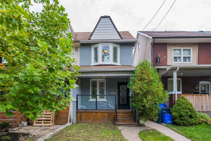 23 Connaught Ave - Greenwood-Coxwell Semi-Detached for sale, 3 Bedrooms (E5408908)