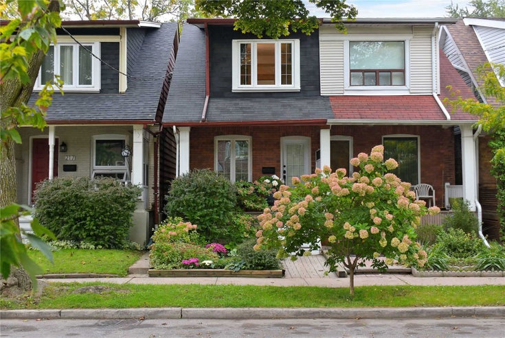 215 Browning Ave - Playter Estates-Danforth Semi-Detached for sale, 2 Bedrooms (E5410896)