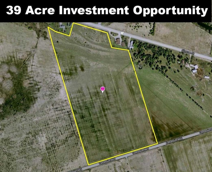 0 Concession Rd 5 - Beaverton Vacant Land for sale(N5317707)