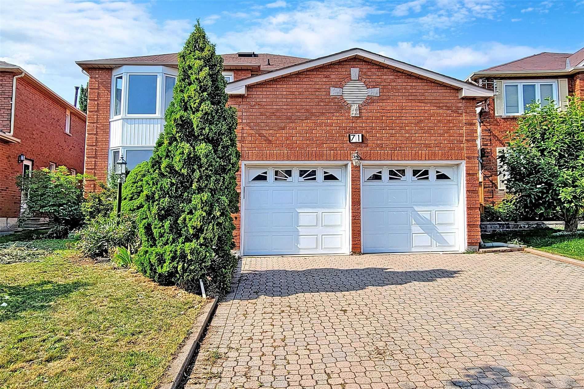 71 Valleymede Dr - Doncrest Detached for sale, 4 Bedrooms (N5325084) - #1