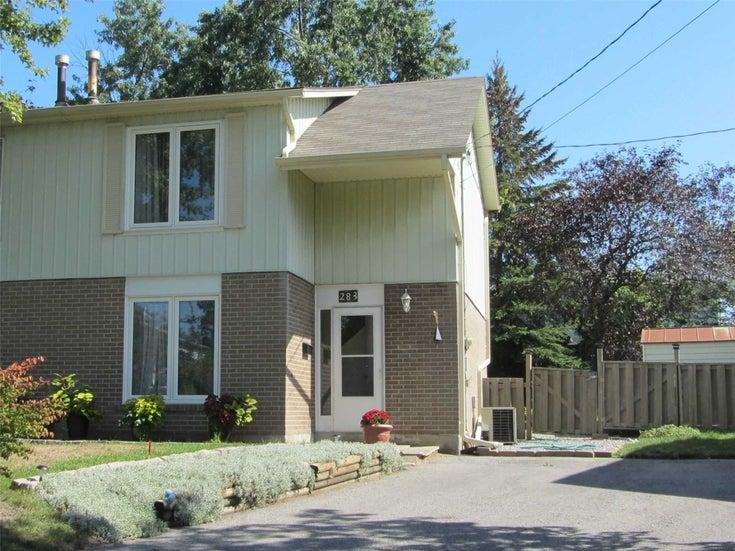 283 Rockway Crt - Huron Heights-Leslie Valley Semi-Detached for sale, 3 Bedrooms (N5380658)