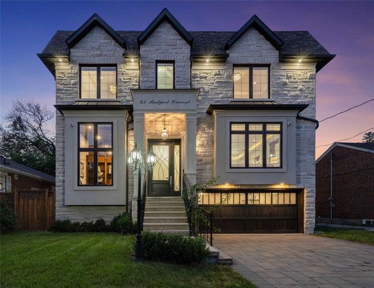43 Rockport Cres - Crosby Detached for sale, 4 Bedrooms (N5404068)