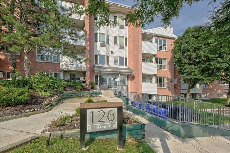 310 - 126 Bell Farm Rd - City Centre Condo Apt for sale, 2 Bedrooms (S5325719)