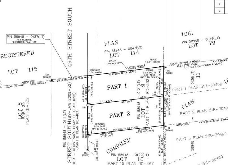 Lt 9 49th South Part 1 St S - Wasaga Beach Vacant Land for sale(S5411552)