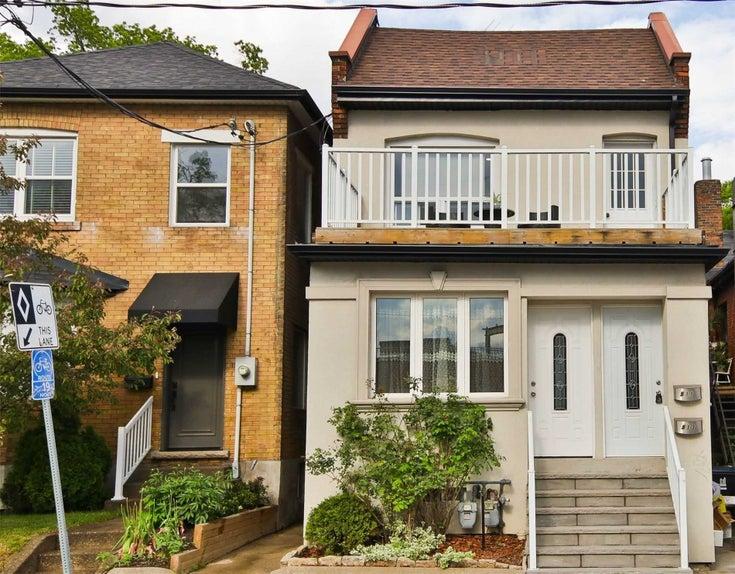 511 Runnymede Rd - Runnymede-Bloor West Village Duplex for sale, 3 Bedrooms (W5259398)