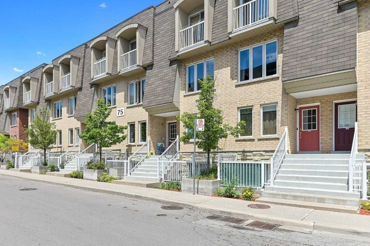 122 - 75 Turntable Cres - Dovercourt-Wallace Emerson-Junction Condo Townhouse for sale, 3 Bedrooms (W5277968)