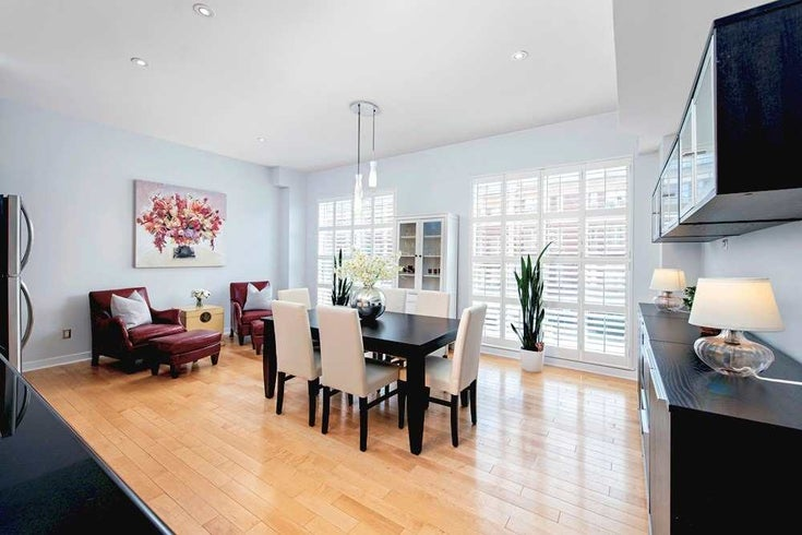 4 - 1388 Bloor St W - Dovercourt-Wallace Emerson-Junction Condo Townhouse for sale, 1 Bedroom (W5297844)