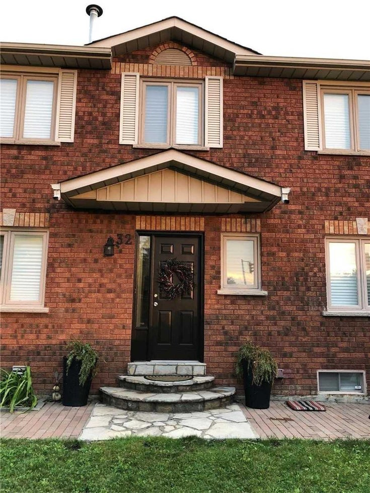 32 Wood Circ - Bolton East Att/Row/Twnhouse for sale, 3 Bedrooms (W5311472)