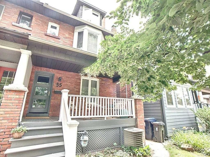 55 Gilmour Ave - High Park North Duplex for sale, 2 Bedrooms (W5315551)
