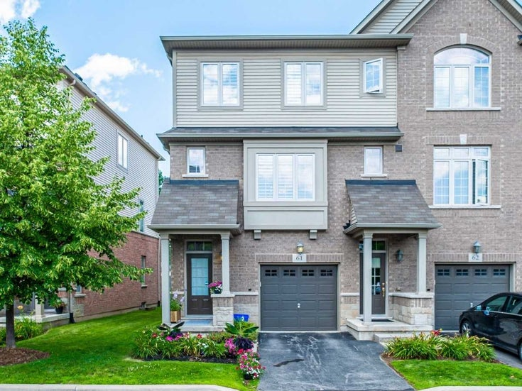 61 - 1401 Plains Rd E - Brant Condo Townhouse for sale, 3 Bedrooms (W5317205)