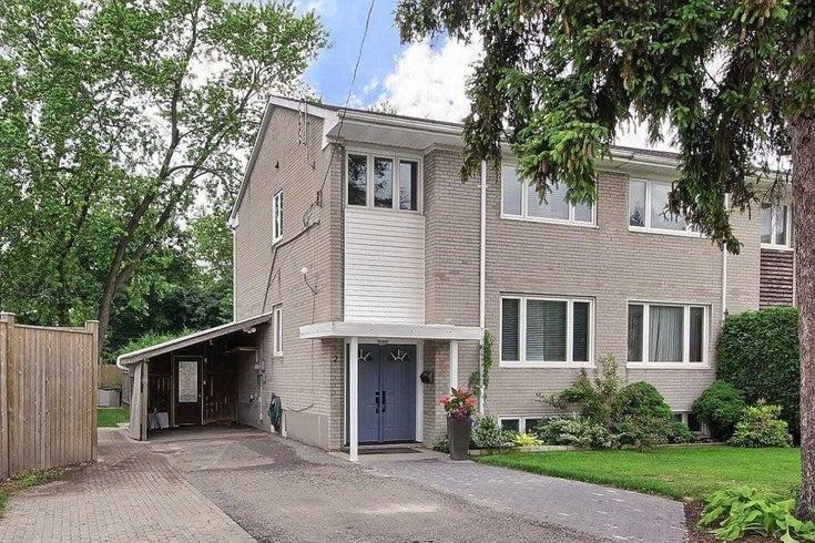 2 Cabot Crt - Islington-City Centre West Semi-Detached for sale, 3 Bedrooms (W5318740)
