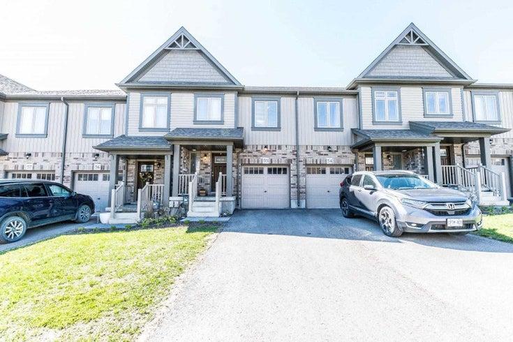 55 - 124 Parkinson Cres - Orangeville Att/Row/Twnhouse for sale, 3 Bedrooms (W5323836)