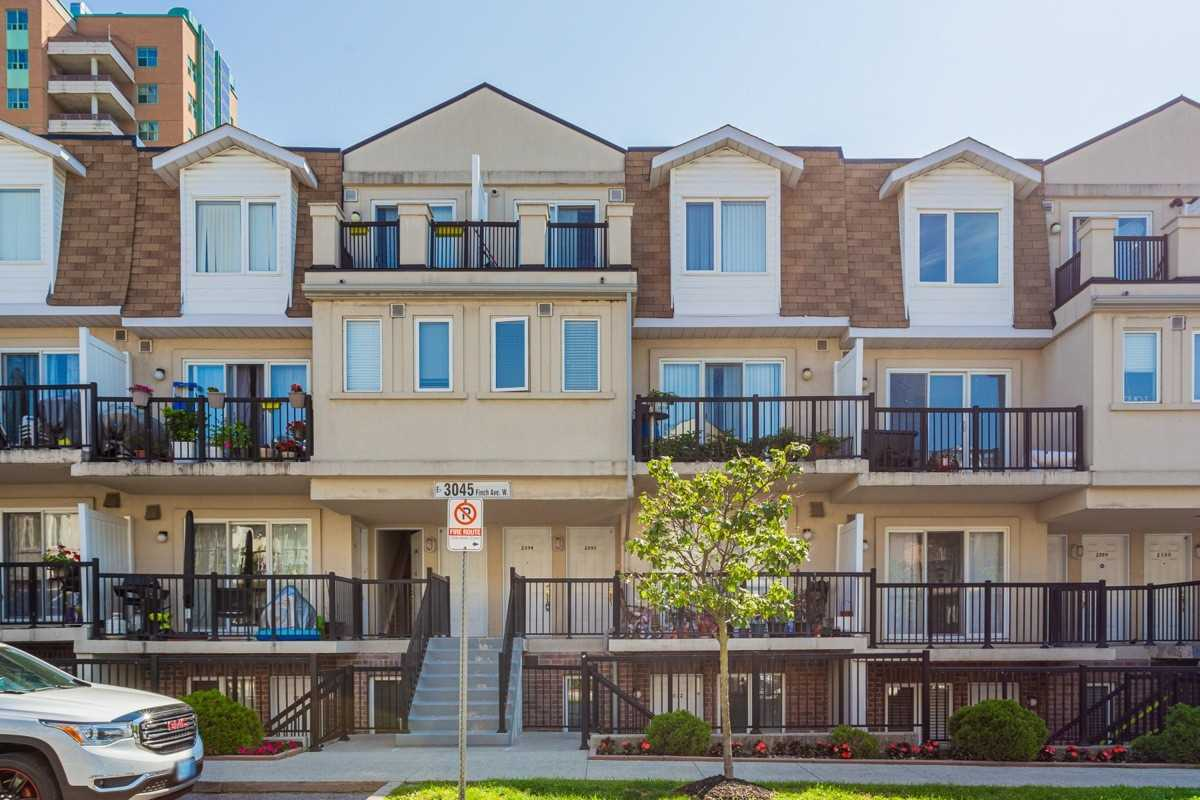 2094 - 3045 Finch Ave W - Humbermede Condo Townhouse for sale, 1 Bedroom (W5324890) - #1