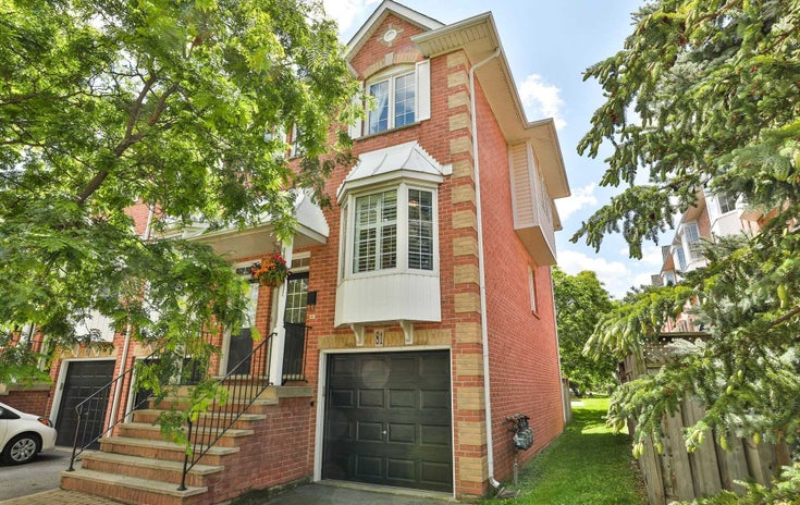 81 - 3480 Upper Middle Rd - Palmer Condo Townhouse for sale, 3 Bedrooms (W5327016)