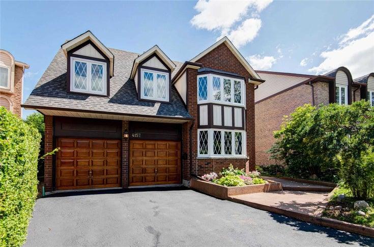 4157 Trellis Cres - Erin Mills Detached for sale, 4 Bedrooms (W5327312)