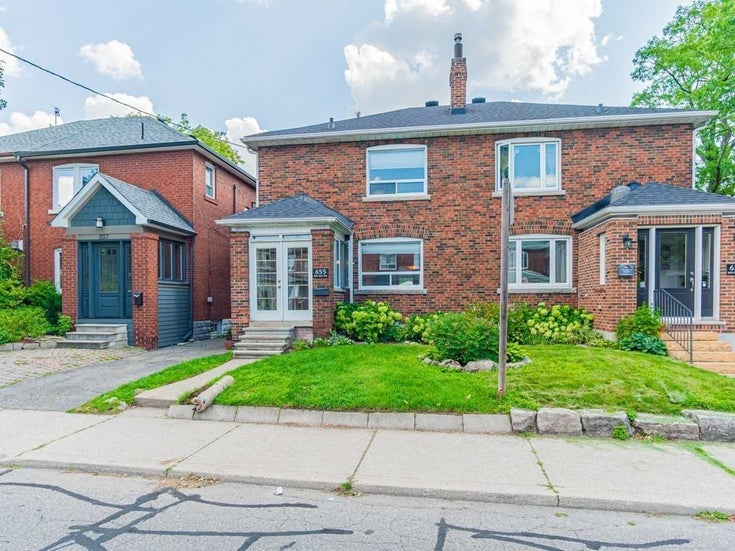 655 Willard Ave - Runnymede-Bloor West Village Semi-Detached for sale, 3 Bedrooms (W5336593)