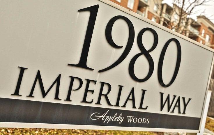 612 - 1980 Imperial Way - Appleby Condo Apt for sale, 2 Bedrooms (W5350392)