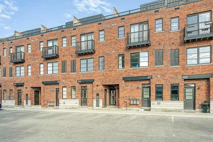 46 - 70 Plains Rd W - Bayview Condo Townhouse for sale, 2 Bedrooms (W5354148)