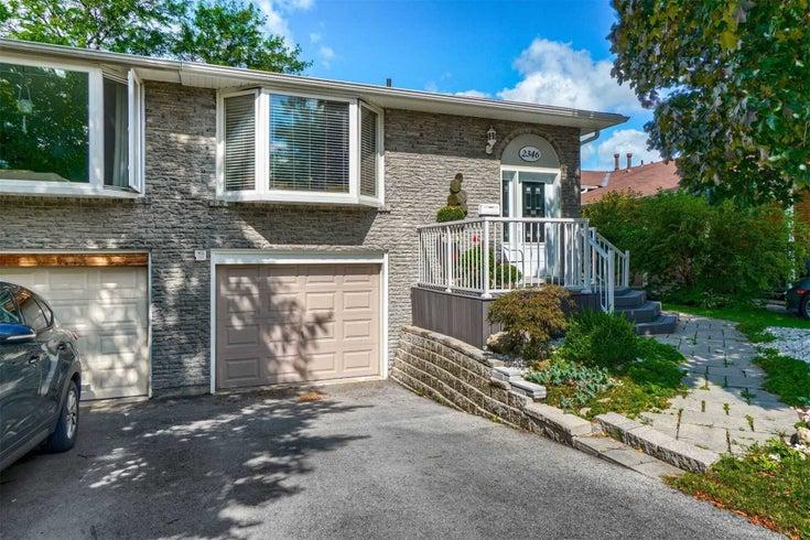 2346 Greenbank Tr - Brant Hills Semi-Detached for sale, 3 Bedrooms (W5366939)