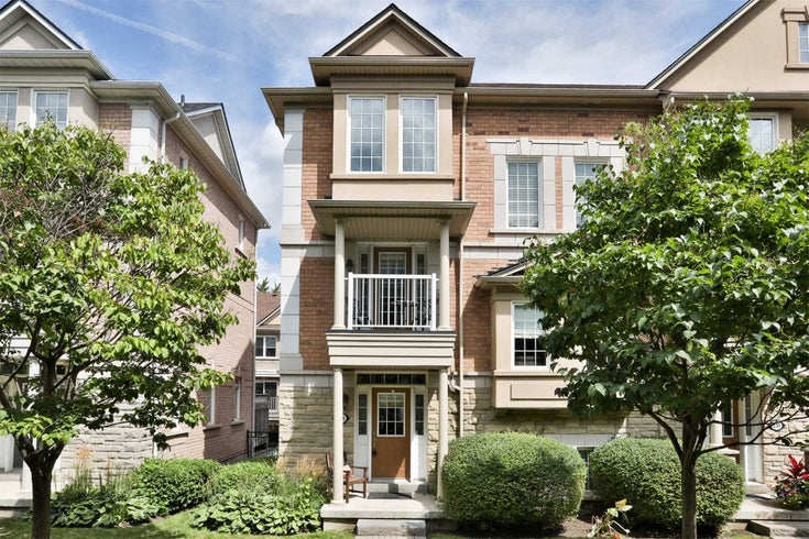 208 - 60 Rosewood Ave - Port Credit Condo Townhouse for sale, 3 Bedrooms (W5368650)
