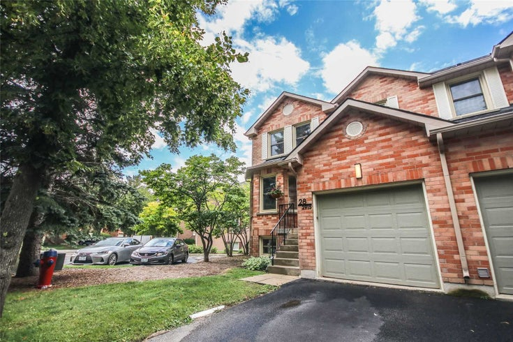 28 - 2915 Headon Forest Dr - Headon Condo Townhouse for sale, 3 Bedrooms (W5369794)
