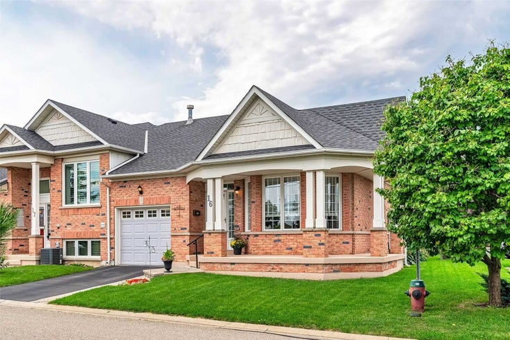 16 - 2243 Turnberry Rd - Rose Att/Row/Twnhouse for sale, 2 Bedrooms (W5371694)