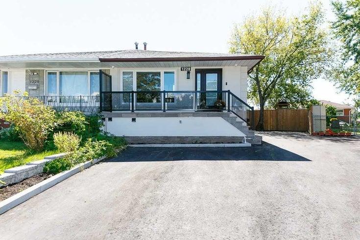 1228 Verhoeven Crt - Erindale Semi-Detached for sale, 5 Bedrooms (W5373882)