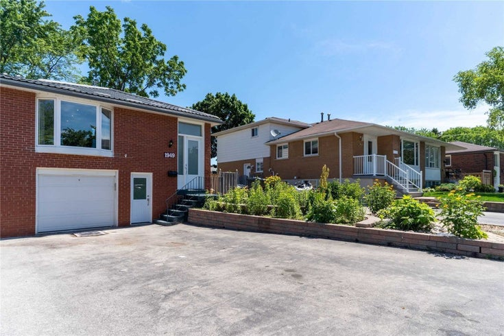 1949 Silverberry Cres - Clarkson Semi-Detached for sale, 4 Bedrooms (W5373888)