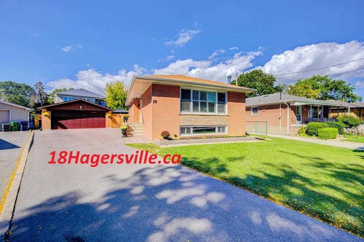 18 Hagersville Crt - Eringate-Centennial-West Deane Detached for sale, 3 Bedrooms (W5373979)