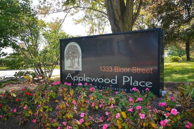 1614 - 1333 Bloor St - Applewood Condo Apt for sale, 2 Bedrooms (W5374051)